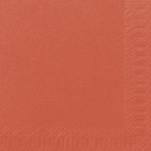 Bordsservetter 40x40cm 3-lags mandarin 1000st