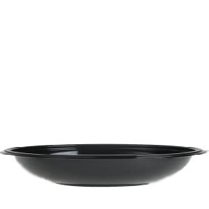 Salladsskål 1000ml rund svart 200st