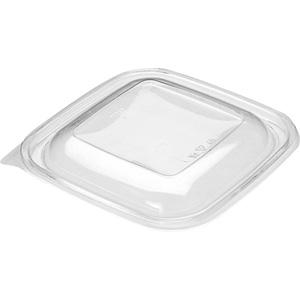 Lock till salladsskål 1500ml fyrkantig transp. 300st